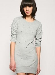 Vero Moda Studded Oversize Sweat Dress