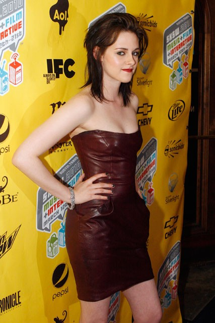 Kristen Stewart at the SXSW Film Festival - The Runaways Screening - Marie Claire