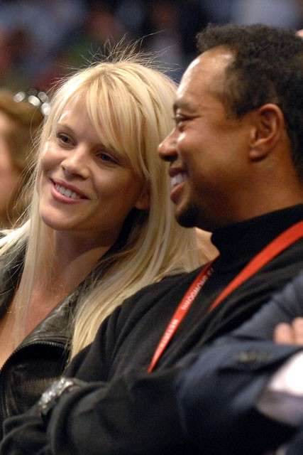 Tiger Woods and Elin Nordegren - Celebrity Scandals 2010 - Marie Claire