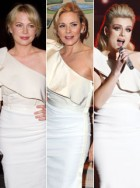 Michelle Williams, Kim Cattrall, Katherine Jenkins in Lanvin - Who wore it best? - Marie Claire