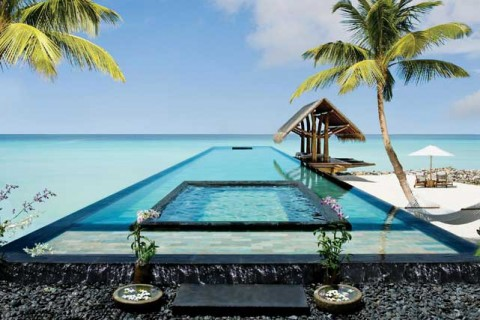 Pools with a view - Marie Claire