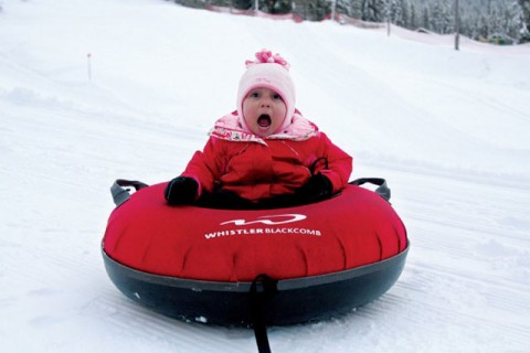 Kids, Whistler, Canada. Travel - Marie Claire