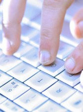 Hands typing on keyboard - Features News - Marie Claire