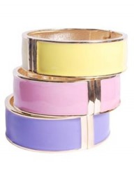 pretaportobello Pastel Enamel Bangle