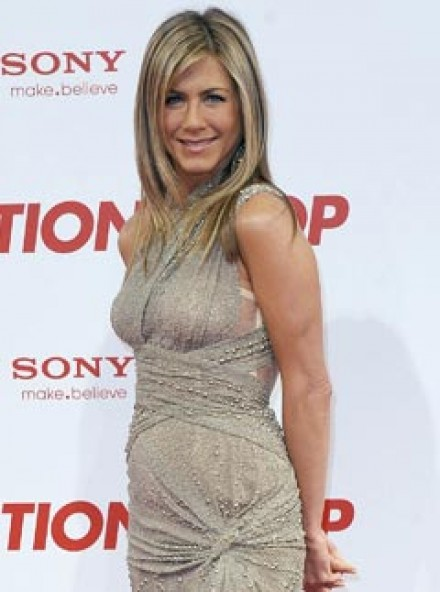 Jennifer Aniston at the Berlin premiere of the Bounty Hunter
