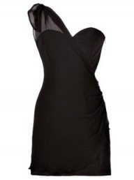 Olivia Rubin EXCLUSIVE Matisse Ruched Shoulder Dress