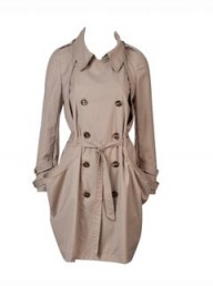 Louche Drape Pocket Trench Coat