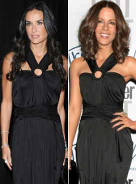 Demi Moore and Kate Beckinsale in Zac Posen - Who wore it best? - Marie Claire