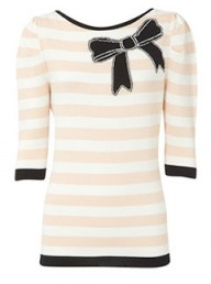 Oasis stripe and bow Intarsia top - Fashion Buy of the Day - Marie Claire