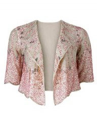 New Look Sunburst Beaded Jacket