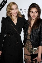Madonna and Lourdes at the Bent on Learning Benefit