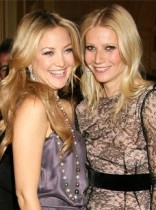 Gwyneth Paltrow and Kate Hudson at the Chopard 150 Anniversary party