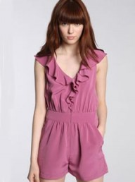 Pins & Needles Ruffle Front Playsuit