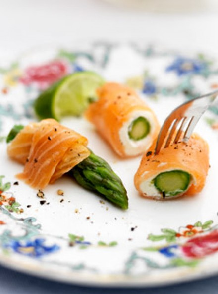 Smoked Salmon Rolls, Marie Claire Recipes