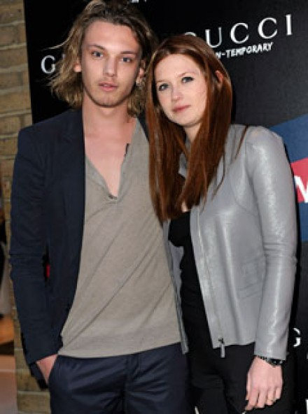 Bonnie Wright and Jamie Campbell Bower - Bonnie Wright and Jamie Campbell Bower engaged! - Celebrity News - Marie Claire