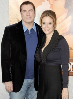 John Travolta and Kelly Preston - John Travolta&#039;s wife Kelly Preston pregnant at 47 - Celebrity News - Marie Claire