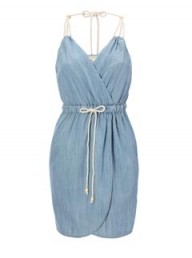 French Connection Denim Strappy Dress