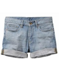 Uniqlo Blue boyfriend shorts