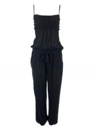 Missguided black jumpsuit