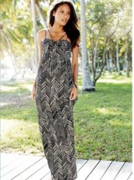 Next Black And White Print Maxi Dress