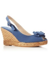 KG by Kurt Geiger blue wedges