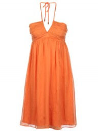 GANT Orange halterneck dress - Fashion Buy of the Day - Marie Claire
