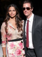 Matthew McConaughey and Camila Alves: Dolce & Gabbana menswear 20th anniversary celebrations, Milan, Italy, catwalk, show, party, spring/summer 2011, Marie Claire
