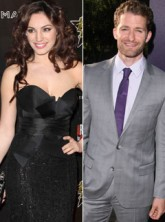 Kelly Brook and Matthew Morrison - Glee, date, London, out, spotted, celebrity news, Marie Claire