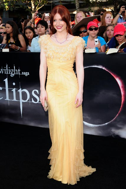 Bryce Dallas Howard at the LA Twiligh Eclipse premiere - pics!