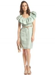 Ted Baker Frill Collar dress