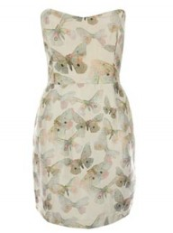Beta Fashion butterfly print dress