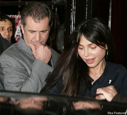 Mel Gibson and Oksana Grigorieva - Mel Gibson caught in 'racist and violent outburst' - Oksana Grigorieva - Celebrity News - Marie Claire