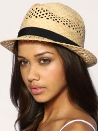 ASOS black band trilby - Fashion Buy of the Day, Marie Claire