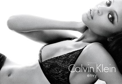 Zoe Saldana for Calvin Klein - Fashion News - Marie Claire