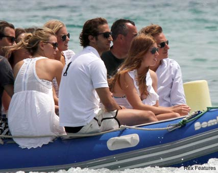 Princess Beatrice and Dave Clark - Princess Beatrice makes a splash in the South of France - Princess Beatrice - Kate Middleton - Royal Wedding - Celebrity News - Marie Claire