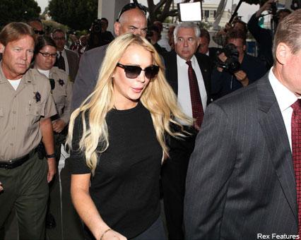 Lindsay Lohan -  Lindsay Lohan's million-dollar prison payout - Celebrity News - Marie Claire