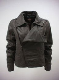ILove2Love asymmetric biker jacket - Fashion Buy of the Day, Marie Claire
