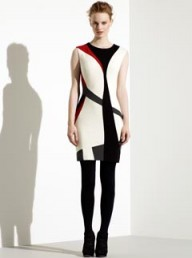 Karen Millen modern colour-block dress