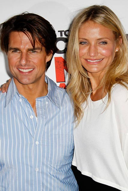 Tom Cruise and Cameron Diaz in Bordeaux