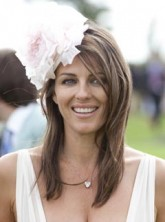 Elizabeth Hurley at Glorious Goodwood Horse Racing