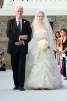 Chelsea Clinton and Bill Clinton - Chelsea Clinton wedding photos