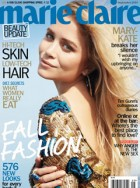 Mary-Kate tells Marie Claire: 'We were little monkey performers' - interview, actress, fashion, designer, upbringing, The Row, cover, US, magazine, news, Marie Claire