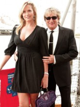Penny Lancaster and Rod Stewart - Baby Joy for Rod Stewart and Penny Lancaster - Rod Stewart - Penny Lancaster pregnant - Celebrity News - Marie Claire