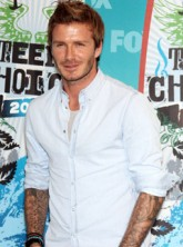 David Beckham - David Beckham gushes about 'amazing wife' - Victoria Beckham - Teen Choice Awards - Celebrity News - Marie Claire