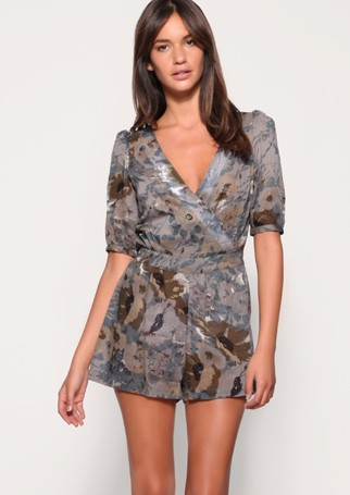 ASOS safari-print playsuit, &pound;36 - What to wear this week - Fashion, Shopping, high street, style, Marie Claire