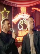 Robbie Williams and Gary Barlow - Robbie Williams and Gary Barlow Shame - Shame - Take That - Celebrity News - Marie Claire