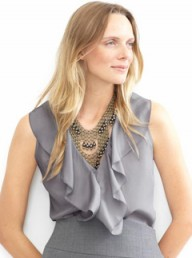 Banana Republic silk cascade ruffle top - Fashion Buy of the Day - Marie Claire