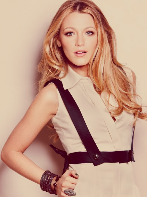 Blake Lively Marie Claire Cover Shoot October 2010