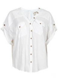 All Saints Dohosan Cropped Shirt