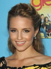 Dianna Agron at the Glee season two premiere party